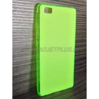 для Huawei Ascend P8 Lite чехол-накладка силиконовый TPU Case матовый зеленый