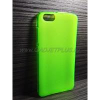 для Huawei Honor 4X чехол-накладка силиконовый TPU Case матовый зеленый