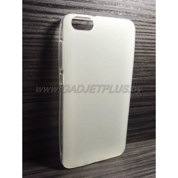 для Huawei Honor 4X чехол-накладка силиконовый TPU Case матовый белый