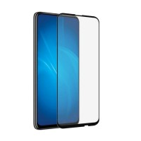Защитное стекло для Huawei P Smart Z с полной проклейкой, цвет чёрный