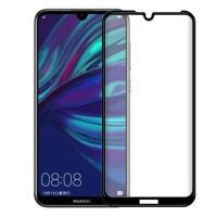 Защитное стекло для Huawei Y5 2019 / Honor 8S с полной проклейкой, цвет чёрный