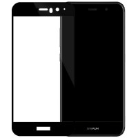 Защитное стекло для Huawei Mate 9 с полной проклейкой, цвет чёрный