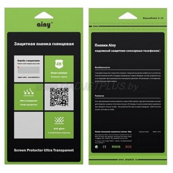 для HTC Desire 800 / 816 глянцевая (прозрачная) защитная пленка Ainy Ultra Transparent