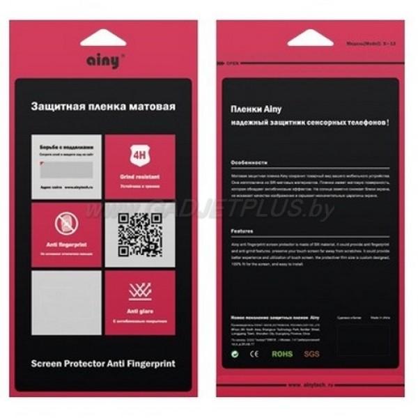 для Asus ZenFone 6 (A600CG) матовая (антибликовая) защитная пленка Ainy Anti Fingerprint