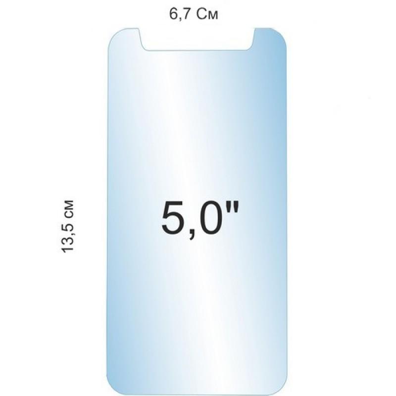 """Универсальное защитное стекло 5.0"""" Ainy Econom Glass"""