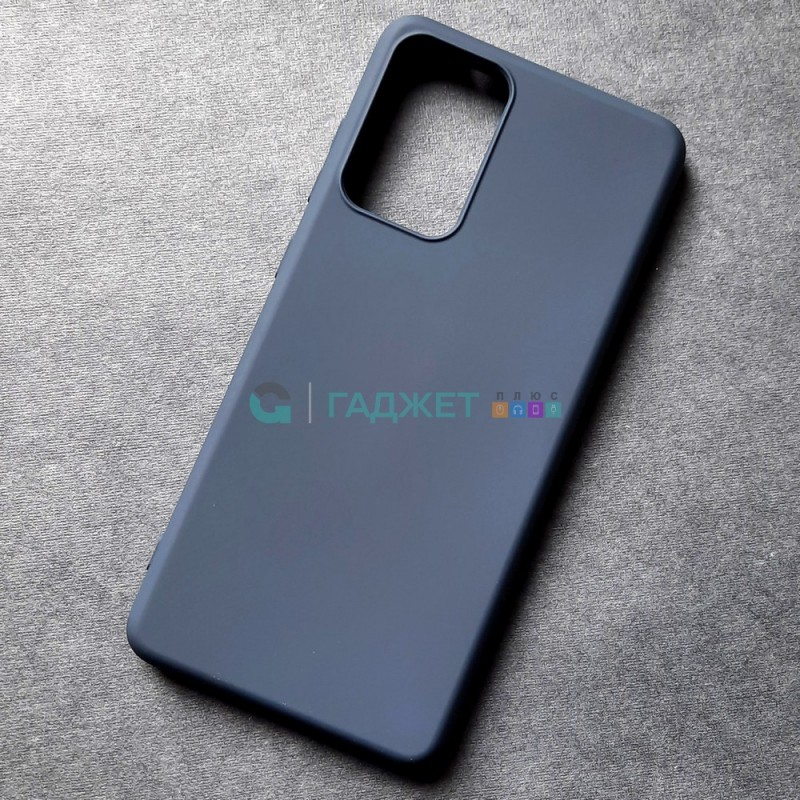 Силиконовый чехол для Samsung A72 X-Level Dynamic, синий